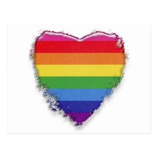 Mariage homosexuel de soutien carte postale