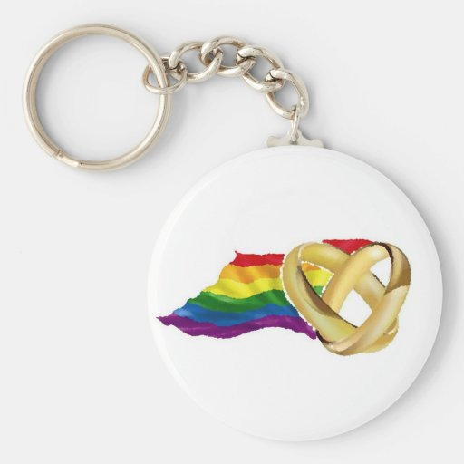 Mariage homosexuel porte-clé