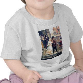 Mariage médiéval Romance T-shirt