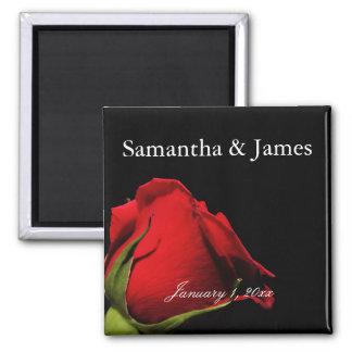 Mariage personnel longtemps refoulé de rose rouge aimant