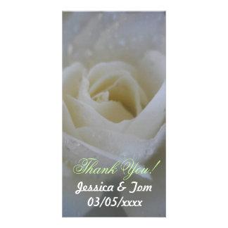 Mariage rose d'ange photocartes