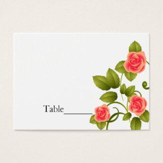 Mariage rose de corail - cartes de Tableau