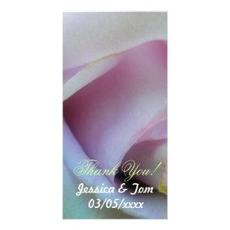 Mariage rose de lilas photocartes personnalisées