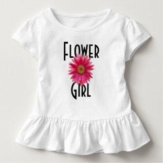 Mariage rose de marguerite de Gerbera de T-shirts
