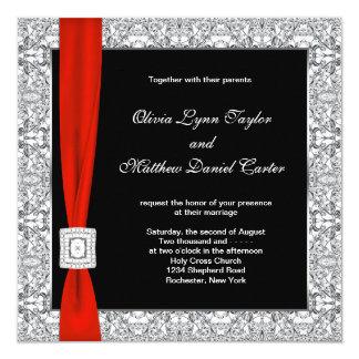 Mariage rouge blanc noir d'arc bristol