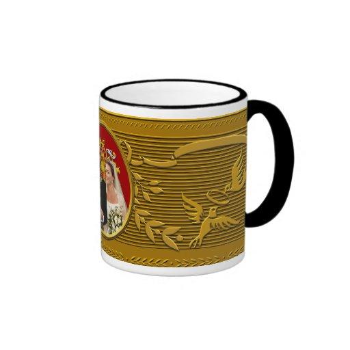 Mariage royal tasse à café