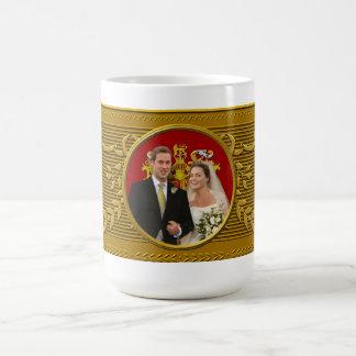 Mariage royal mug blanc
