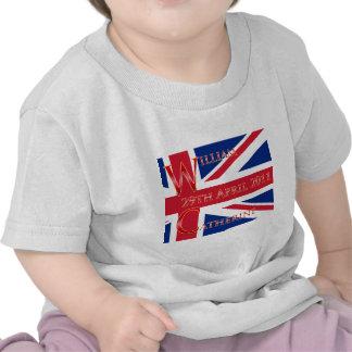 Mariage royal t-shirts