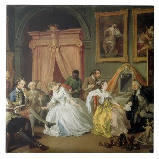 Mariage un mode de La : IV, la toilette, c.1743 (h Grand Carreau Carré
