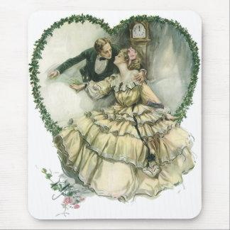 Mariage victorien vintage de Noël Tapis De Souris