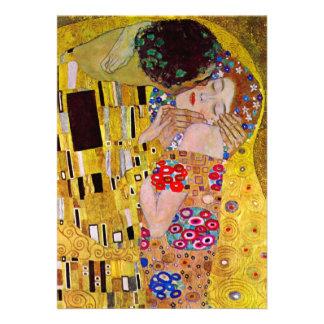 Mariage victorien vintage, le baiser par Klimt Invitations Personnalisables