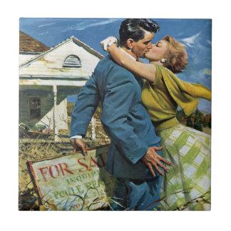 Mariage vintage, Chambre d'achat de nouveaux Petit Carreau Carré