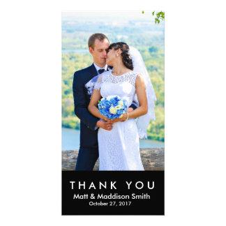 MARIAGES audacieux du carte photo | de Merci