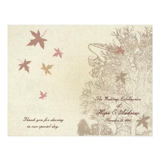 Mariages d'arbre de Brown Prospectus 21,6 Cm X 24,94 Cm