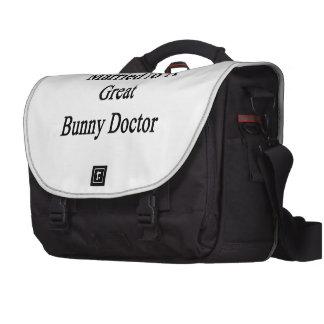 Marié à un grand docteur de lapin sacoches pour ordinateurs portables