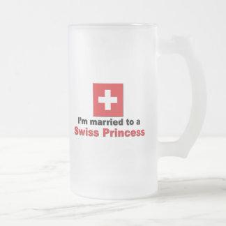 Marié à une princesse suisse tasse