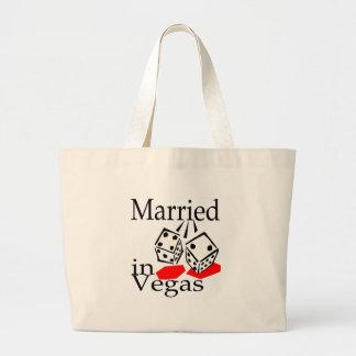 Marié à Vegas (matrices) Grand Sac