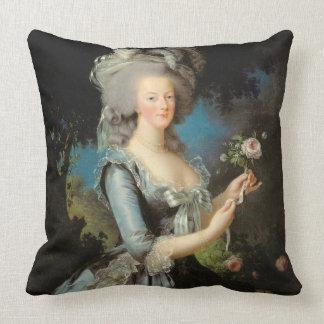Marie Antoinette avec un rose, 1783 Oreillers