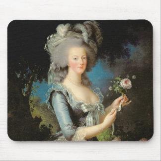 Marie Antoinette avec un rose, 1783 Tapis De Souris