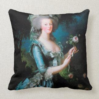 Marie Antoinette dans le coussin de coussin de