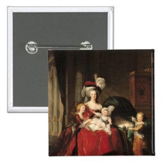 Marie-Antoinette et ses enfants, 1787 Badges