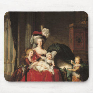 Marie-Antoinette et ses enfants, 1787 Tapis De Souris