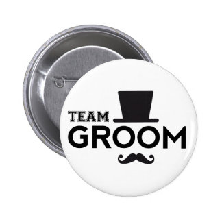 Marié d équipe avec le chapeau et la moustache