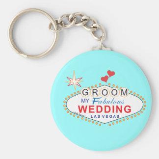 Marié de Las Vegas Porte-clef