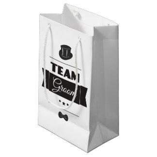 Marié d'équipe petit sac cadeau
