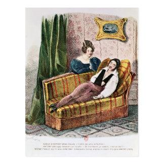 Marie Dorval dans le rôle du d'Hervey d'Adele Carte Postale