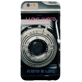 Marie I LOVE PHOTO PHOTO IS LOVE Coque iPhone 6 Plus Barely There