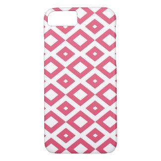 Marie losange pink coque iPhone 7