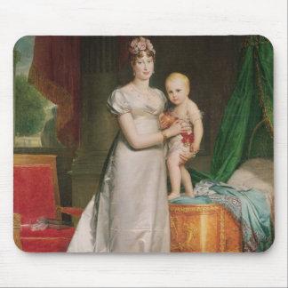 Marie Louise et roi de Rome Tapis De Souris