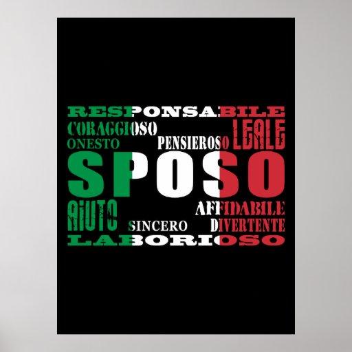 Mariés d'Italien : Qualités Posters