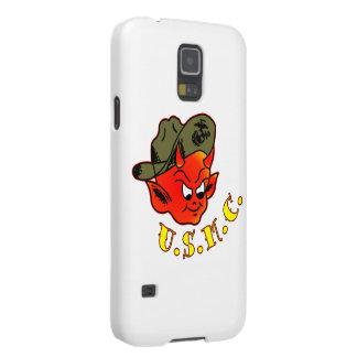 Marine Corps de diable de bande dessinée Coques Pour Galaxy S5