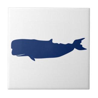 Marine de baleine petit carreau carré
