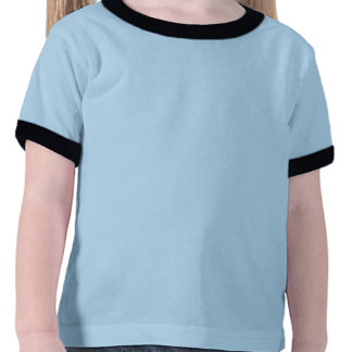 Marine de St John/sonnerie bleu-clair - enfant en T-shirt