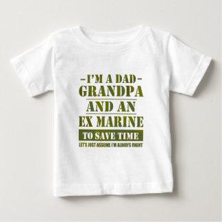 Marine ex t-shirt pour bébé