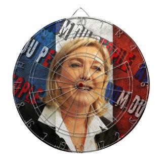 Marine Le Pen Jeu De Fléchettes