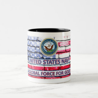 """Marine """"une force globale pour la bonne"""" tasse de"""
