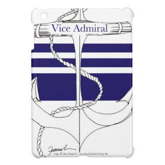 marine Vice-amiral, fernandes élégants Coque Pour iPad Mini