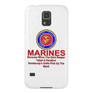 Marines puisque quand Reaper prend des vacances Coque Pour Samsung Galaxy S5