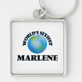 Marlene la plus sexy du monde porte-clé