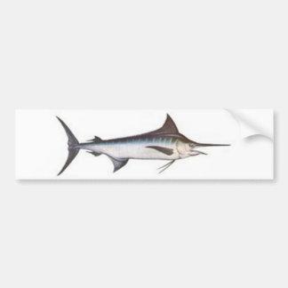 Marlin bleu autocollant pour voiture