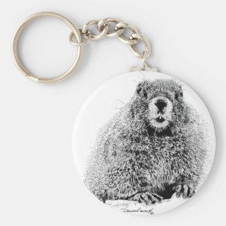 Marmot Porte-clé Rond
