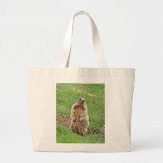Marmotte de sentinelle grand sac