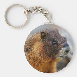 marmotte porte-clef
