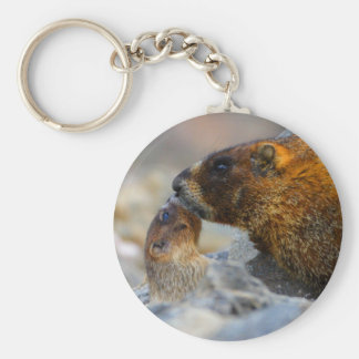 marmotte porte-clé