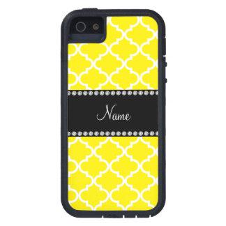 Marocain jaune nommé personnalisé coque Case-Mate iPhone 5