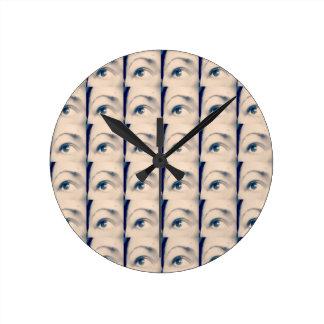 marque chanceuse de karma horloge ronde